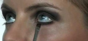 Create a classic smoky eye