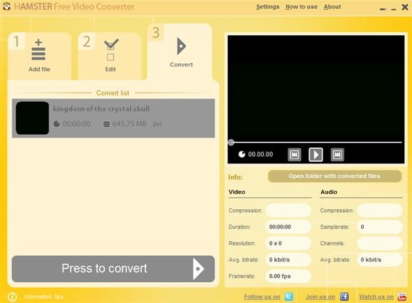 How to Convert Video Files to Any Format with the Hamster Video Converter