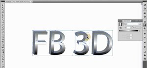 Create custom 3D logos and text with Illustrator CS4