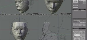 Create a realistic 3D model of a human head in Blender