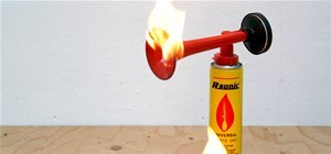 Make a Foghorn Flamethrower