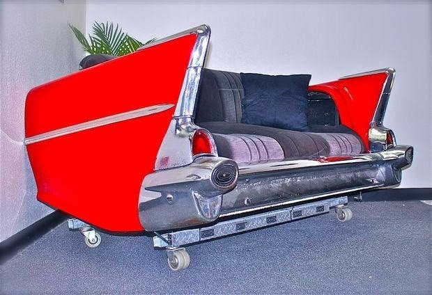 How to Turn Your '57 Chevy Classic (Or Any Old Car) into the Best Couch Ever