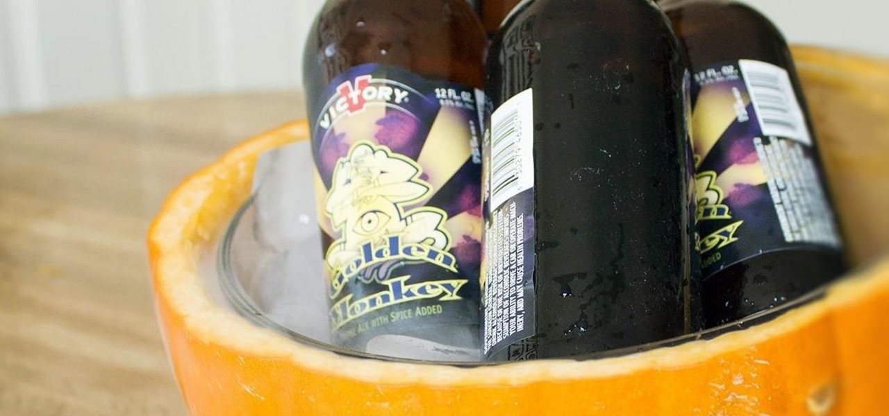 How to Make a Bubbling, Brewing Pumpkin Cooler