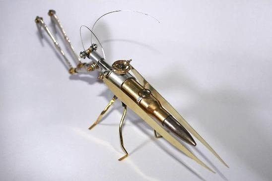 Arthrobots: Steampunk Insects on the Loose!