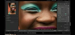 Enhance makeup color in a photo with Adobe Lightroom 3