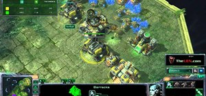 Use the Terran Double Barracks build order in StarCraft 2: Wings of Liberty
