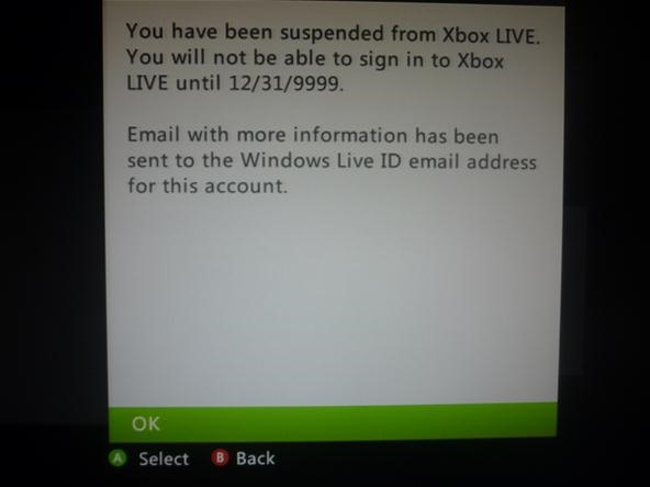 How to Unban Your Xbox LIVE Account That is Banned Until 12/31/9999 by Tricking Microsoft's Banning System