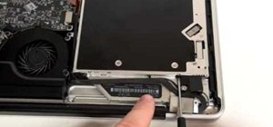 "Repair a MacBook Pro 17"" Unibody - Remove hard drive"