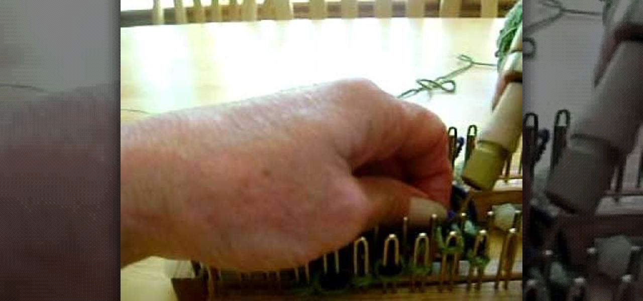 Knit Stitch One Row Below : How to Knit one below on a knitting loom   Knitting & Crochet