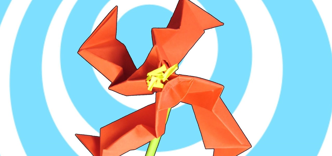 Make an Origami Teo Flower