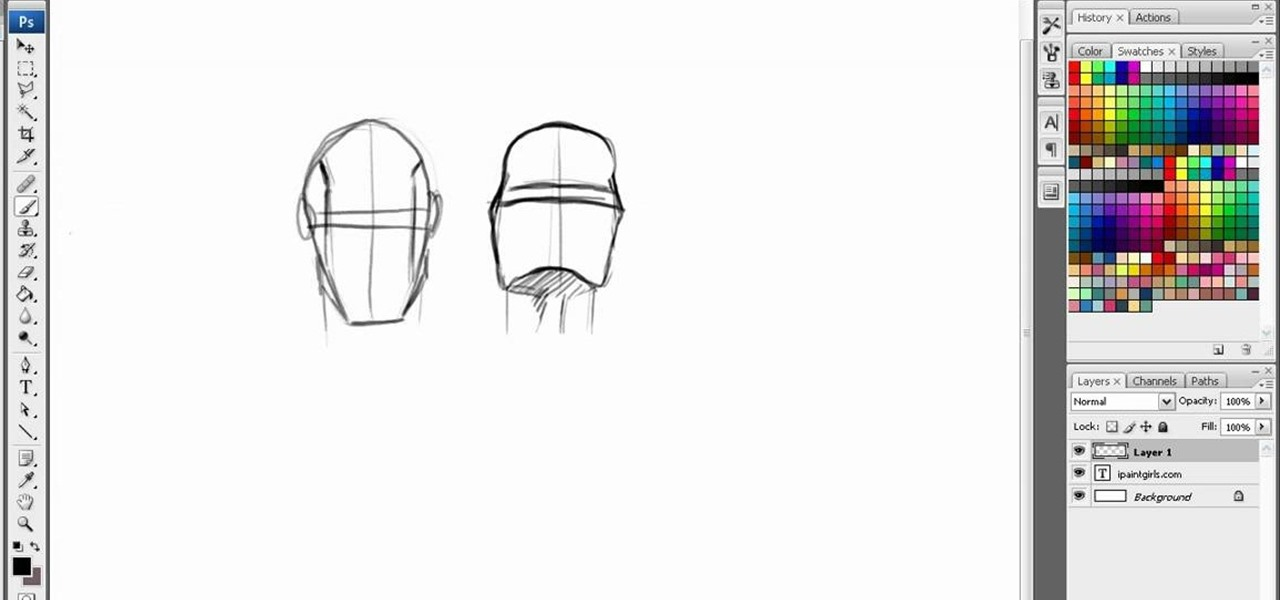 How To Draw Heads And Faces From Different Angles Digitally