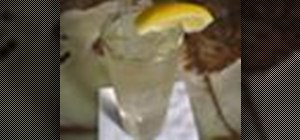 Make a Rebujito spritzer with dry sherry