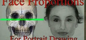Master proportions when drawing the human face