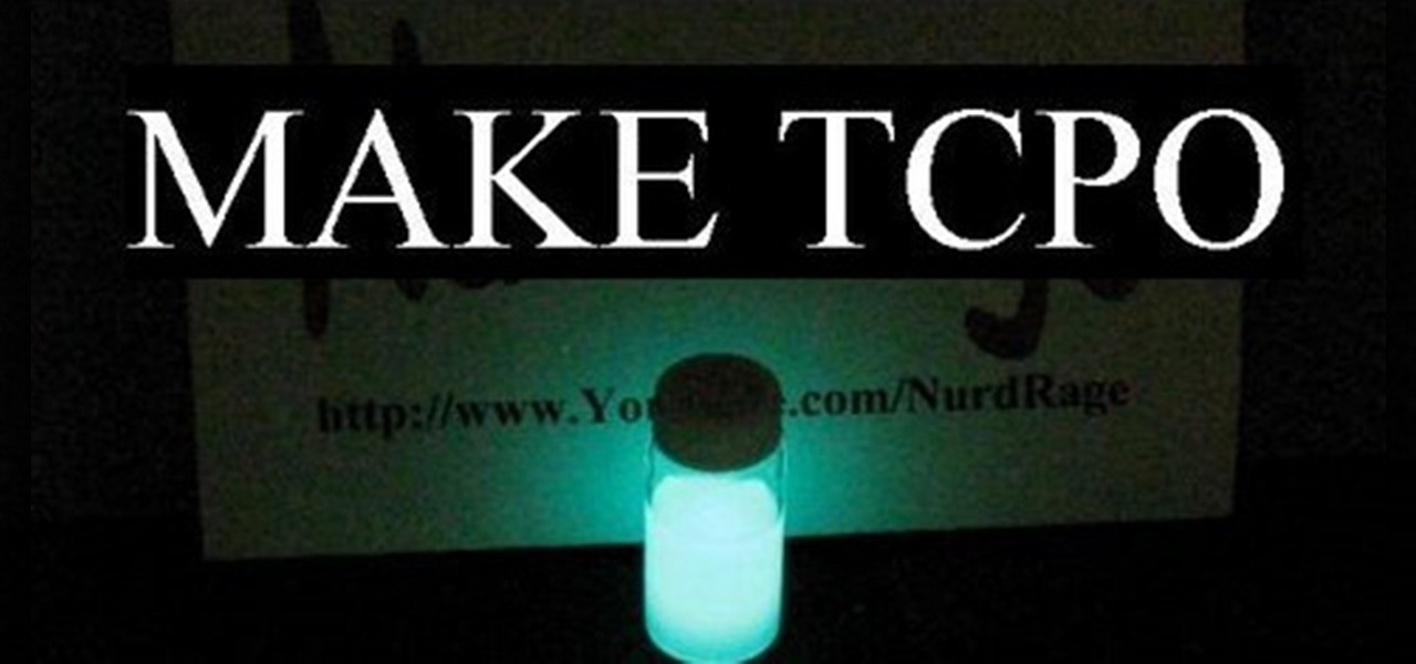 How To: Make TCPO (for Making Glow Sticks)
