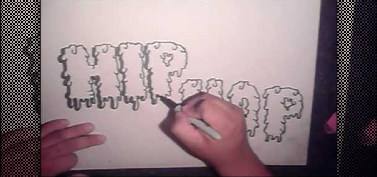 How To Draw Cool Graffiti Letters Step By Urban Art WonderHowTo