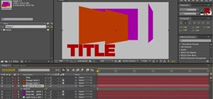 Use layer order creatively when using After Effects