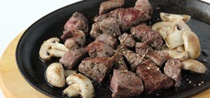 Grill Korean style marinated beef