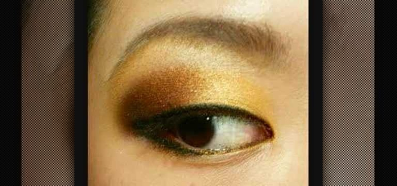 How To Apply Mac Gold Orange And Copper Eye Makeup Makeup
