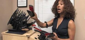 Choose a good curling iron and flat iron
