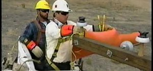 Safely work with high voltage when pole topping