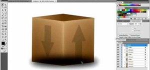 Draw a 3D box in Adobe Illustrator CS4