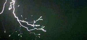 Super Slo-Mo Lightning Looks Like Mother Earth's Fireworks Show