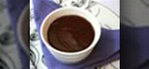 Make a black tea and bergamot infused ganache
