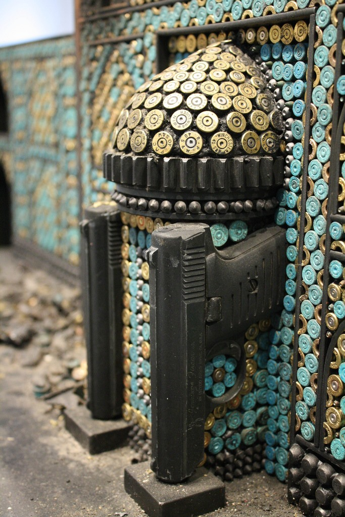 Guns, Bullets, and Steel: Al Farrow's Reliquary Sculptures