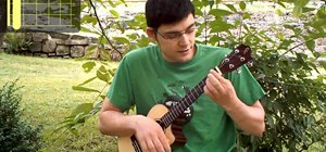 "Play ""While My Guitar Gently Weeps"" by the Beatles on the ukulele"