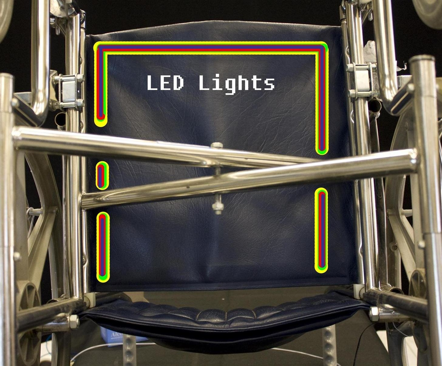 How to Illuminate a Wheelchair for Safety Using EL Wire & LED Strip
