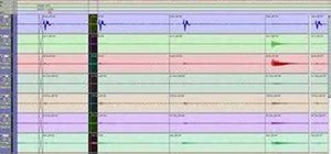 Edit drums in Digidesign Pro Tools