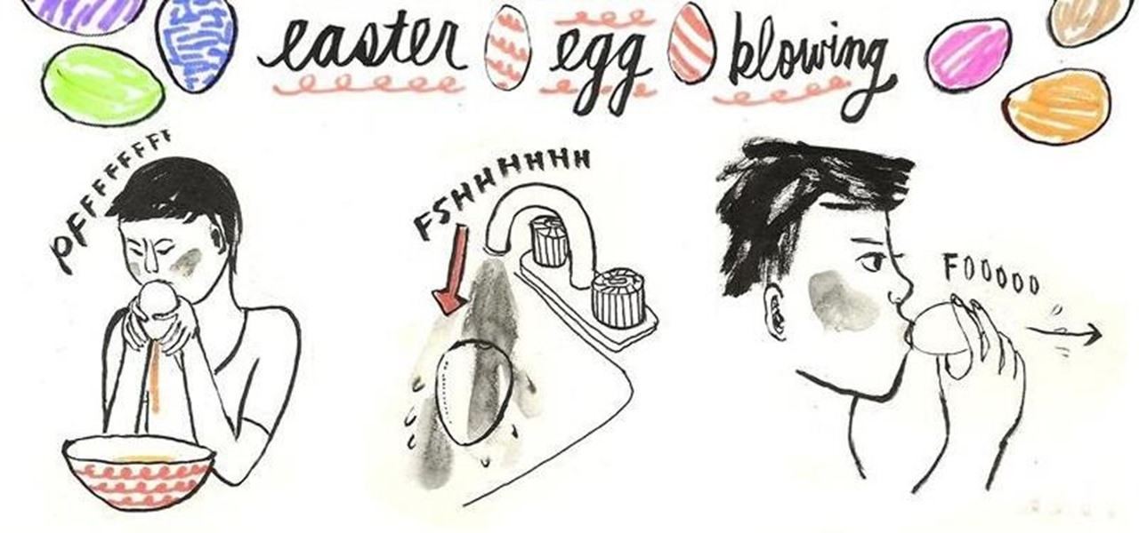 Yumi's Guide to Easter Egg Blowing