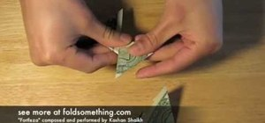 Make an origami ninja star