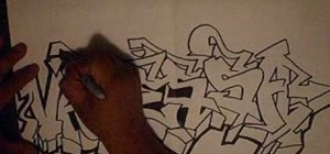Write a name in graffiti letters