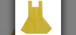 Origami a pinafore dress Japanese style