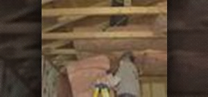 Insulate attics per California law