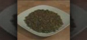 Make lentil salad