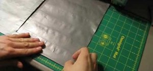 Make a folder for school from duct tape