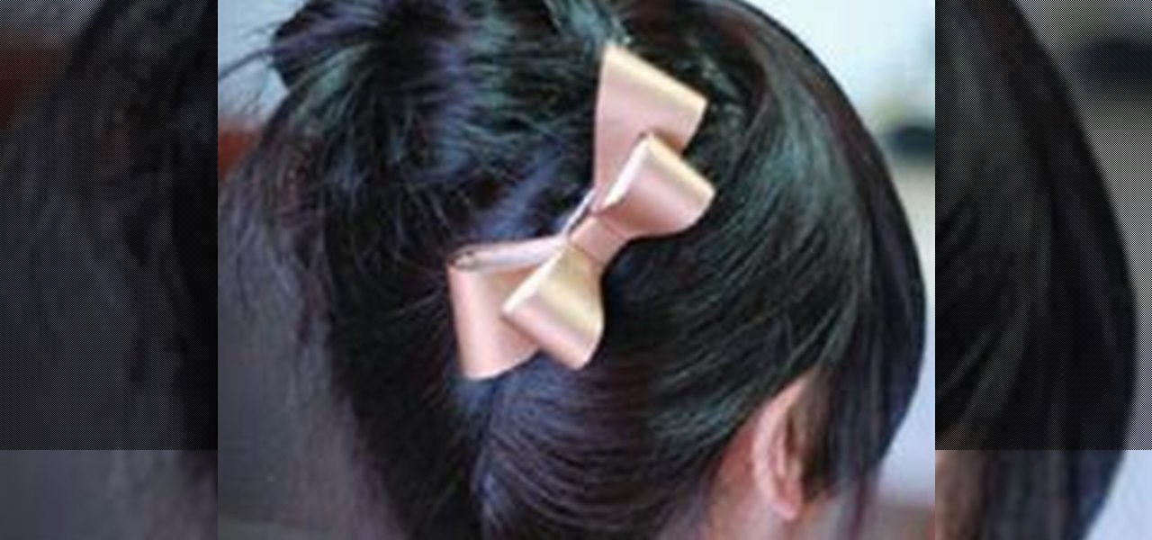 How to Put Your Hair Up In A Cute Bun « Hairstyling :: WonderHowTo