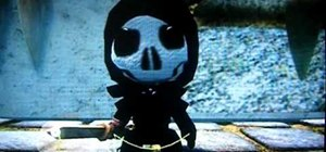 Get a Grim Reaper costume for your avatar on Little Big Planet