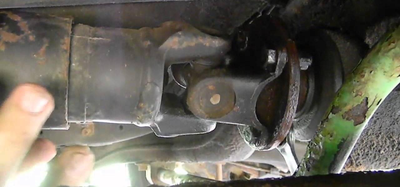 Install Aluminium Drive Shaft