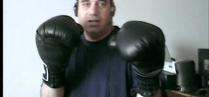Practice defense and the jab in boxing