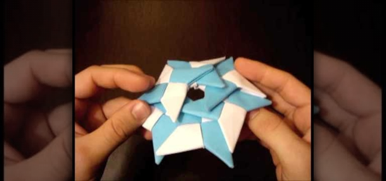 How to Make Origami Transforming Ninja Star : 11 Steps - Instructables | 600x1280