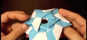 Make a ninja star frisbee - the super shuriken!