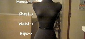 Make a pencil dress