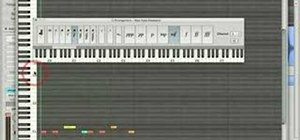 Step record in Logic Pro 8