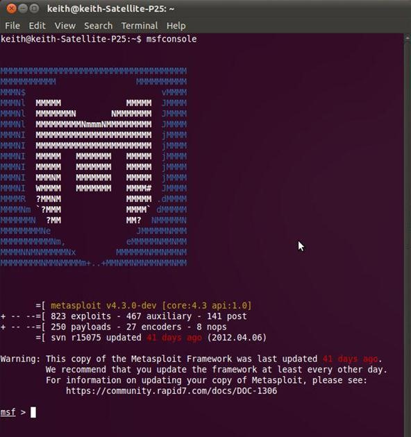 metasploit ubuntu