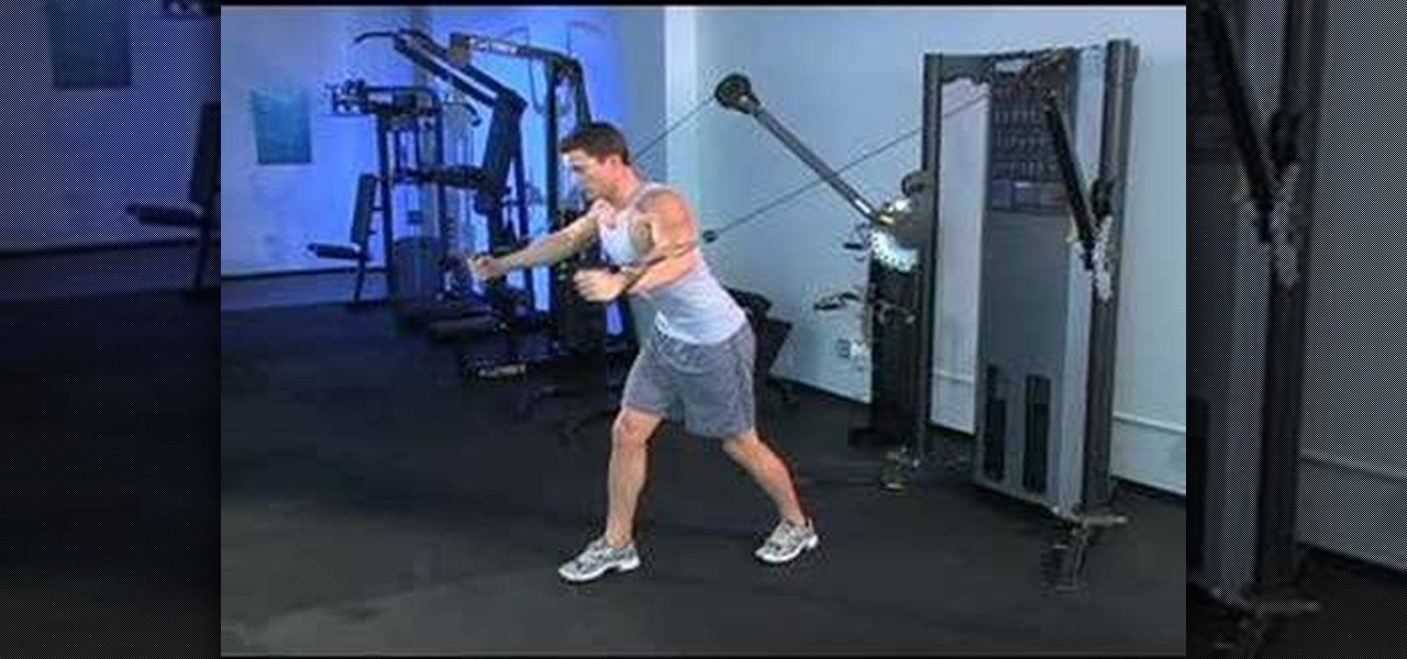 How To Sculpt Your Chest With Standing Cable Chest Flys