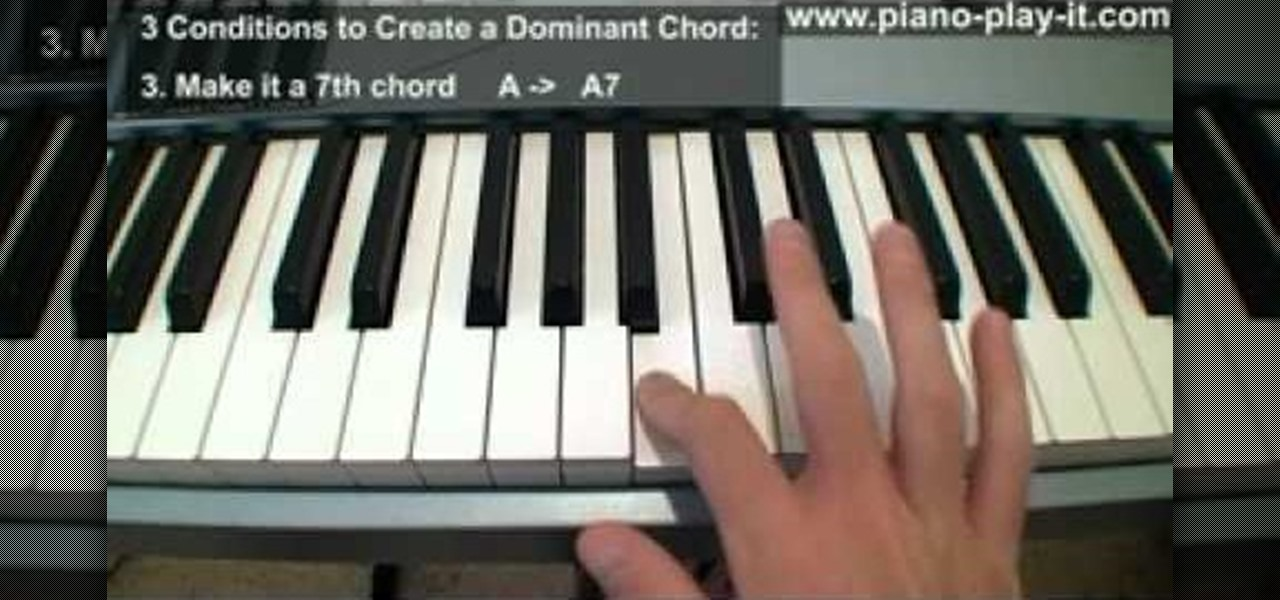 How to Play secondary dominant chords on the piano u00ab Piano u0026 Keyboard :: WonderHowTo