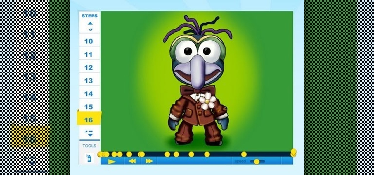 Draw Gonzo (Muppet Show)